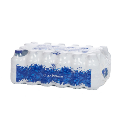 Chaudfontaine Blauw tray 24x33cl