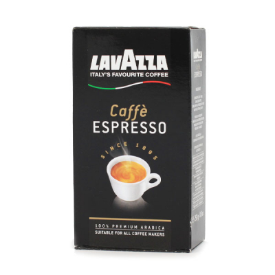 Lavazza Caffe Espresso coffee 250 grams of ground coffee