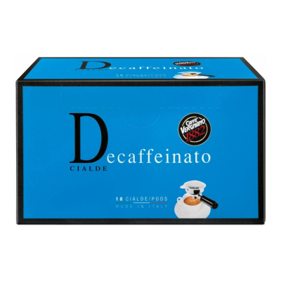 Caffè Vergnano ESE serving pods 'Decaffeinato' 18 servings