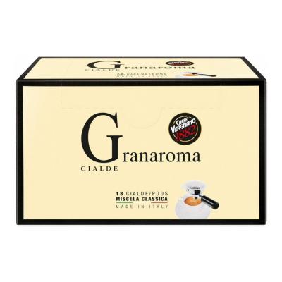 Caffè Vergnano ESE serving pods 'Granaroma' 18 servings