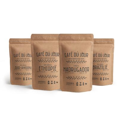 Café du jour bestsellers fresh coffee 4 x 1 kilo