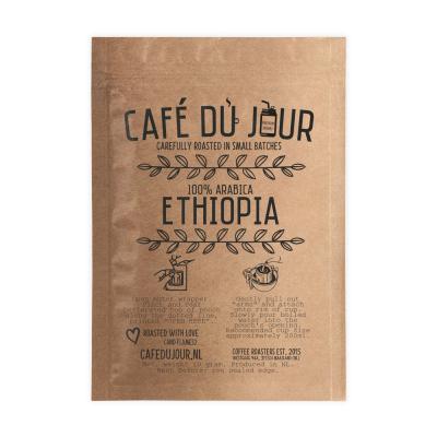 Café du Jour Single Serve Drip Coffee - 100% arabica ETHIOPIA - Ground coffee for on the GO!