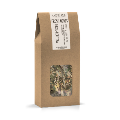 Fresh Herbs - kruiden thee 100 gram - Café du Jour losse thee