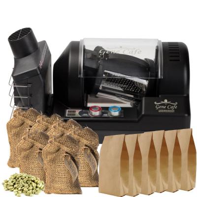 Gene Café CBR101 koffiebrander (zwart) starterspack