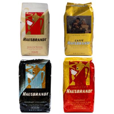 Hausbrandt Coffee beans sample pack 4 x 1 KG