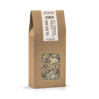 Jasmijn - groene thee 100 gram - Café du Jour losse thee