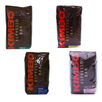 Kimbo Koffiebonen Proefpakket 4 x 1 kilo