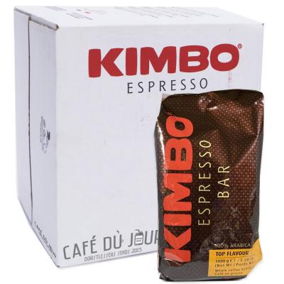Kimbo Espresso Bar Top Flavour 100% arabica 6 x 1 kilo