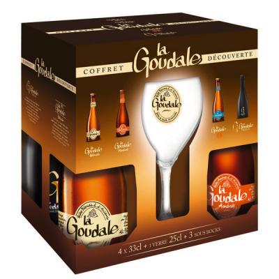 La Goudale geschenkverpakking bierpakket met gratis glas