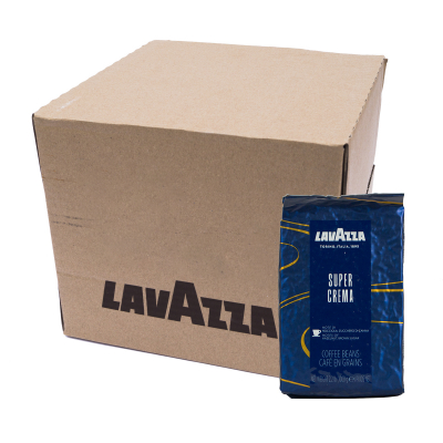 Lavazza Super Crema Espresso Coffee beans 6 x 1KG