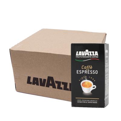 Lavazza Caffe Espresso coffee 8 x 250 grams of ground coffee discount box