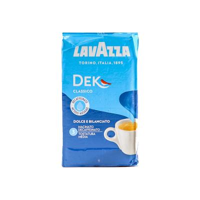Lavazza DEK Classico Decaffeinated ground coffee 250 grams