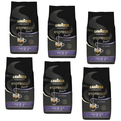 Lavazza Espresso Barista Intenso 6 x 1KG discount box