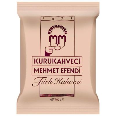 Turkse koffie Kurukahveci Mehmet Efendi 100 gram gemalen koffie