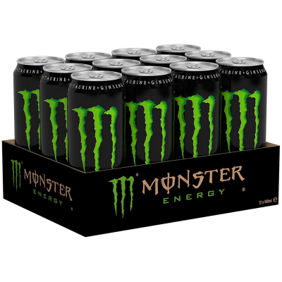 Monster Energy 500 ml. / tray 12 blikken