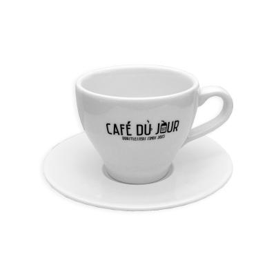 Café du Jour koffie kop en schotel