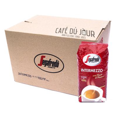 Segafredo Intermezzo Coffee beans 8 x 1KG