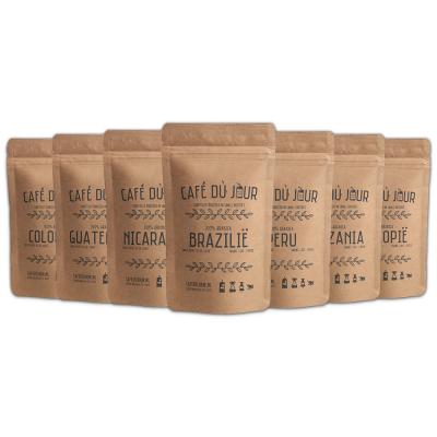Café du jour single origins fresh coffee 7 x 250 gram