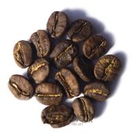 Koffiebonen tijdens de eerste crack