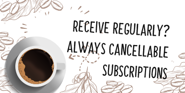 Get a coffee subscription!